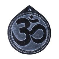 Sanskrit OM carved stone decorative