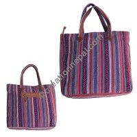 Gheri cotton large tote bag