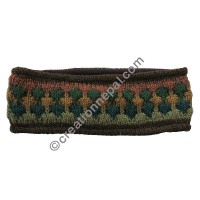 Colorful woolen olive headband