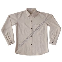 Hemp regular shirt