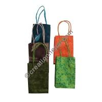 Printed Lokta XS gift bags