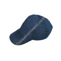 Hemp baseball blue cap