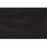 Pure hemp Black veg. dyed zigzag 28 inch fabric