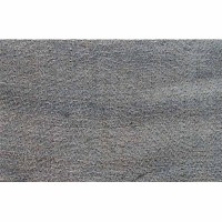 Pure hemp Brown veg. dyed zigzag 28 inch fabric
