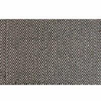 Hemp-cotton green herringbone 29 inch fabric