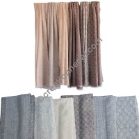 Assorted soft wool muffler2