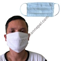 Hemp cotton 3 layer face mask