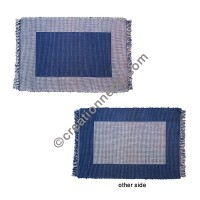 Dining table placemat - Blue