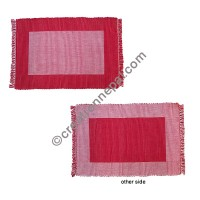 Dining table placemat Red-white
