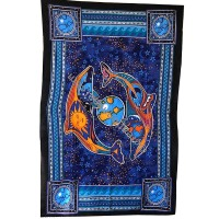 The earth and universe tapestry