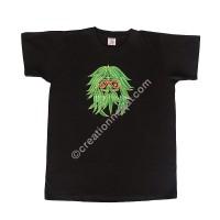 Bob Marley embroidery cotton T-shirt