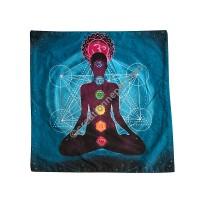 7 Chakra meditation cushion cover2