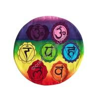 Sanskrit Mantra round cushion cover
