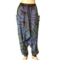 Cotton tie dye Aladdin trouser