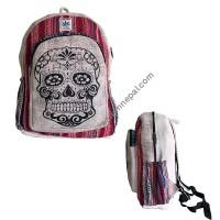 Khopadi hemp-cotton backpack