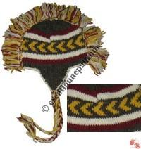 Woolen mohawk hat2