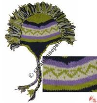 Woolen mohawk hat3