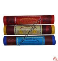 Tibetan incense packet of 3