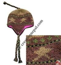 Woolen ear hat13