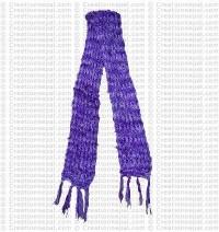 Deep dye silk scarf 2