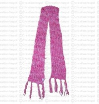 Deep dye silk scarf 3