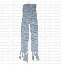 Deep dye silk scarf 5
