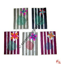 Vertical stripes cards