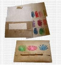 Flower patch letter Set