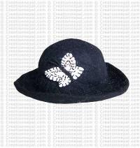 Felt Butterfly hat 1