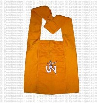 Om Yellow Lama bag