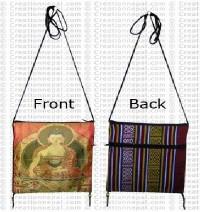 Buddha passport bag