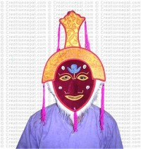 Dancing monk mask 1