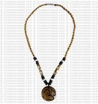 Sanskrit Om Amulet necklace 3
