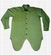 Shyama cotton round bottom shirt