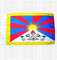 Tibet Flag L