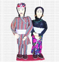 Gurung couple