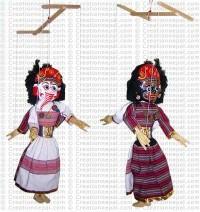 Ganesh-Mahakali puppet