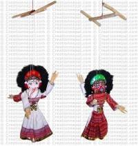 Ganesh-Narasinhi puppet