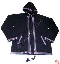 Shama plain hooded jacket3