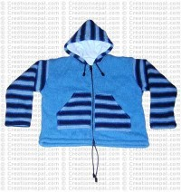 Kids stripes design jacket
