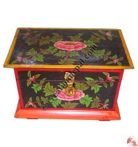 Small Tibetan treasure box