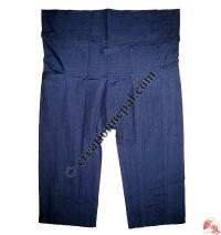 Shyama cotton sport type plain wrapper trouser4