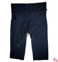 Shyama cotton sport type plain wrapper trouser6