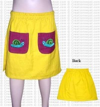 Front pocket kids skirt