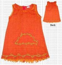 Cotton frills kids dress