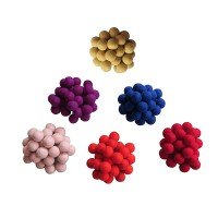 3 cm diameter felt balls (packet of 500 balls)