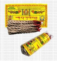 Tashi rope incense (packet of 6)