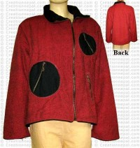 Patch pocket cotton jacket