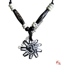 Wheel OM amulet