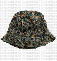 Hemp brim hat2